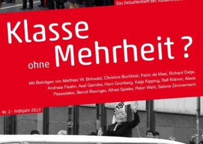 "Debattenheft 2013: ""Klasse ohne Mehrheit?"""